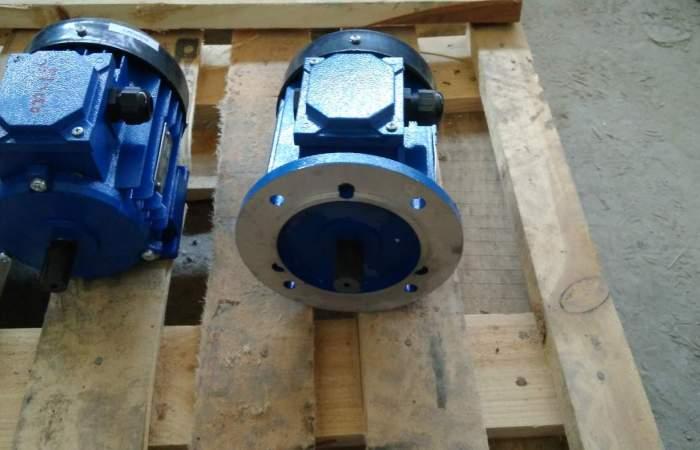 Асинхронные трехфазные электродвигатели