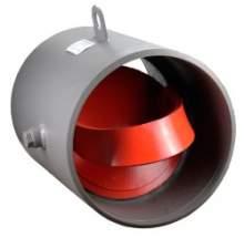 Затвор (клапан) обратный поворотный стальной приварной РУ40 19С47НЖ